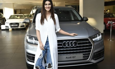 Bollywood Star Kriti Sanon becomes member of the Audi Q Family