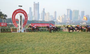 MISSING YOU wins The Poonawalla Breeders' Multi Million at the Royal Western India Turf Club