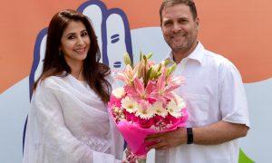 Actress Urmila Matondkar Joins Congress Party