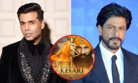 Go easy on Karan Johar, says Shah Rukh Khan