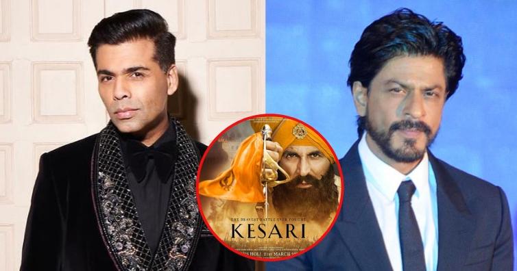 Go easy on Karan Johar, says Shah Rukh Khan