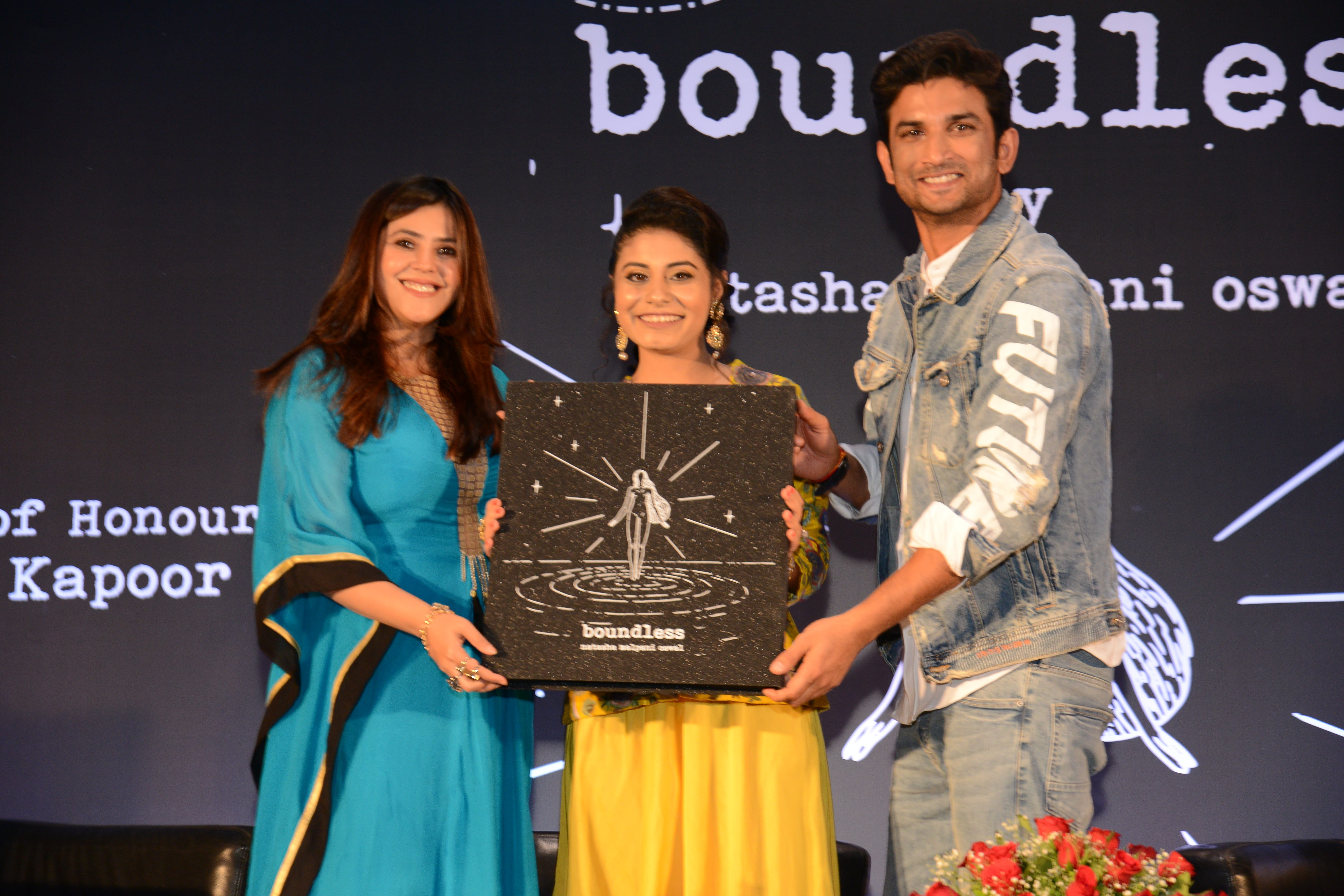 Natasha Malpani Oswal launches her debut poetry book – Boundless