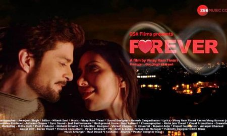 """Vinay Ram Tiwari's romantic thriller """"FOREVER"""" set to release on Amazon this May."""