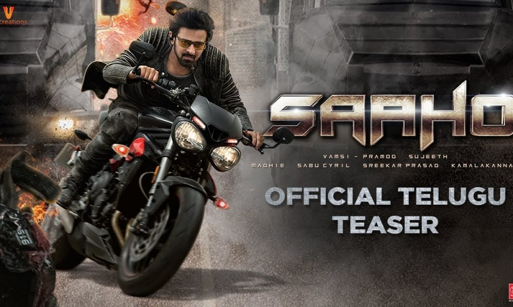 Prabhas And Shraddha Kapoor Are Mind-Blowing in Saaho Teaser