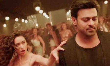 Saaho's first song, Psycho Saiyaan out now in four languages today!