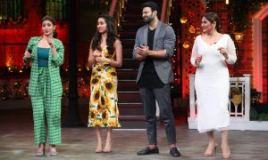 Dhvani Bhanushali performs 'Psycho Saiyaan' at The Kapil Sharma Show
